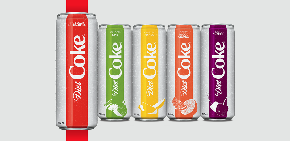 diet coke launches into 2018 with full brand restage in north america